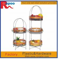 Buy cheap Supermarket display stand,kitchen storage wire rack,fruit and vegetable display rack,metal display from wholesalers