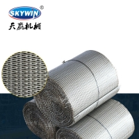 Buy cheap 304/316Biscuit making machine parts stainless steel furnace belt food machinery wire mesh belt from wholesalers