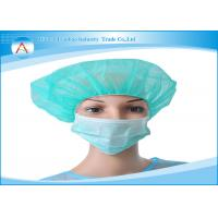 Buy cheap CE FDA Approved Non Woven 3 Ply Surgical Disposable Face Mask from wholesalers