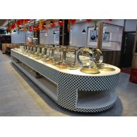 Buy cheap Restaurant Equipment Buffet Stations Fit Chafing Dish Hot Display Buffet from wholesalers
