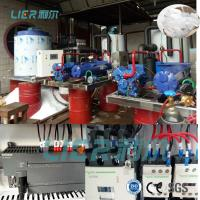 Buy cheap Industrial Flake Ice Machine for Freshwater or seawater On Land Or Vessel Use 10T / day from wholesalers