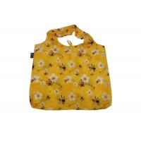 Buy cheap Ripstop Polyester Nylon Fold Up Tote Bag , Foldable Reusable Bags Waterproof product