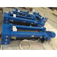 Buy cheap Single Girder Electric Wire Rope Hoist European design With Low - Voltage Protection from wholesalers