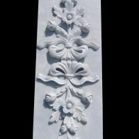 Buy cheap Marble stone relief wall flower carving panels with polished,China stone carving Sculpture supplier from wholesalers