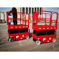 Buy cheap Hot selling compact aerial work platform plataforma elevadora 6m self-propelled electric mini scissor lift from wholesalers