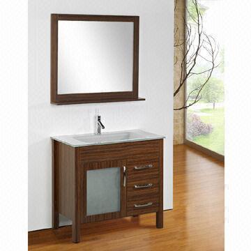 Contemporary bathroom vanity with 900 x 800 x 150mm mirror for Mirror 900 x 800