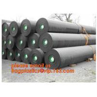 Buy cheap 2mm HDPE reinforced polypropylene geomembrane for landfill,Geomembrane fish farming Pond Liner Hdpe Geomembrane BAGPLAST from wholesalers