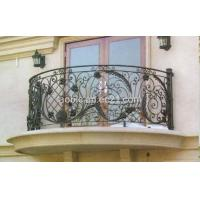 Buy cheap Balcony Balustrade,Balcony Railing,Balustrade,Balcony Rails,Handrail,Railing,Iron Railing,Iron Balustrade,Wrought Iron Railing,Wrought Iron Balustrade 001 from wholesalers