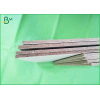 Buy cheap Uncoated tough 1200gsm grey chipboard ,  grey strawboard 70x100cm recycling board from wholesalers