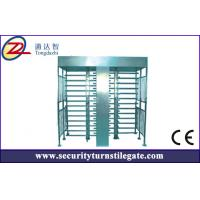 Buy cheap Access control Double Turnstile Full Height for stadium , 30 person / min from wholesalers