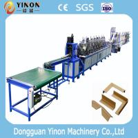 Buy cheap V Profile And Right Angle Function Paper Corner Board Making Machine from wholesalers