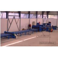 Buy cheap Economical high mast light pole production line / Cutting Machine for light pole 12000mm from wholesalers