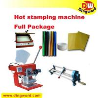 Buy cheap Hot Foil Stamping Machine Heat Transfer Full Package,hot foil printing machine from wholesalers