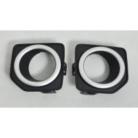 Buy cheap Land Rover Freelander 2 2010 ABS Black Front Chrome Fog Light Covers Replacement With Clips from wholesalers