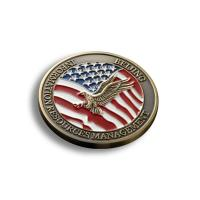 Buy cheap Creative Custom Promotional Coins , US Military Challenge Coins OEM Available from wholesalers