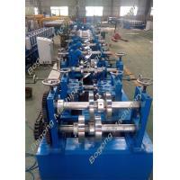 Custom Metal C And Z Purlin Machine 30 - 80mm Flange High Grade Steel Shaft