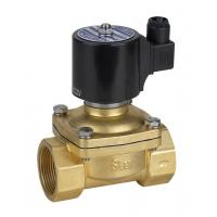 Buy cheap DC 24v Natural Gas Solenoid Valve Brass Electric Solenoid Valve Low Pressure from wholesalers