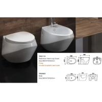 China TREND GROUP  rimless wall hung toilet black and white CE certificate on sale