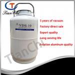 Buy cheap 10L Liquid nitrogen storage tank factory direct sale 10L Liquid nitrogen storage tank from wholesalers