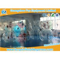 Buy cheap 1.5m Inflatable Bubble Soccer Ball Human Hamster Ball Bumper Football Zorbing Ball product