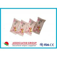 Buy cheap Customized Unscented Baby Wet Wipes , Safty 8pcs Kids Wet Wipes For Hands product