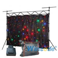 Buy cheap DIY Flexible LED Curtain Dimming Effects 6 Channels Sound Active 2m X 3m from wholesalers