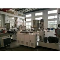 Buy cheap Thermoplastic Small Plastic Extrusion Machine Bonded PVC Material Weathering Proof from wholesalers