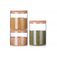 Buy cheap 2L 2.5L 3.5L Blown Wide Mouth Glass Jars , Ball Wide Mouth Canning Jars from wholesalers
