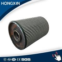 Buy cheap Pulley Lagging Length 1450mm  Conveyor Head Pulley Rubber Ceramic Covering from wholesalers