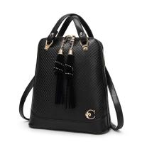 Buy cheap 27 * 30 * 12 Cm Fashion Ladies Backpack Tassel Decoration With Premium PU Leather from wholesalers