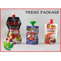 Buy cheap Custom Printed Waterproof Pouch With Spout For Hot Liquid Tomato Sauce from wholesalers