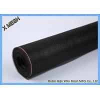 Buy cheap Black Ffiberglass Insect Screen MeshNetting18X16 Mesh Count For Windows from wholesalers