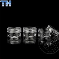 Buy cheap 3 / 5 / 10g Transparent Empty Cosmetic Jars For Skin Care Cream / Shampoo from wholesalers