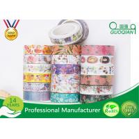 Buy cheap DIY Scrapbooking Sticker Label Washi Masking Tape / Correction Tape from wholesalers