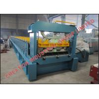Buy cheap Shallow Trapezoidal Composite Metal Floor Deck Roll Forming Machine from wholesalers