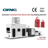 China High Effective 3 Phase Non Woven Box Bag Making Machine Low Noise on sale