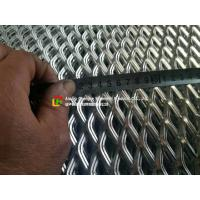 Buy cheap Low Carbon Galvanized Expanded Metal Mesh Diamond Shape Hole For Wall Construction product
