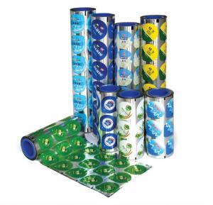 Buy cheap PET Aluminium Printed Easy Peel Lid Film For Butter / Jam Cup Packaging from Wholesalers