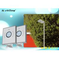 Buy cheap OEM / ODM solar powered outdoor street lights Bridgelux Led Light Source 12V 6AH Lithium Battery from wholesalers