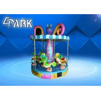 Buy cheap 9 - Person Ocean Turn Horse Kiddy Ride Machine / Children Play Equipment from wholesalers