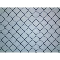 Buy cheap Hot-dipped Galvanized black vinyl chain link fence 2.1m*10mx50x50mm from wholesalers
