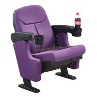 Buy cheap Fancy Purple Middle Back VIP Cinema Seating With Cup Holder / Home Theater Chair from wholesalers