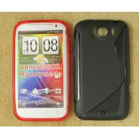 Buy cheap HTC sensation XL line tpu gel case cover skin capa funda estuch hulle coque Custodia from wholesalers