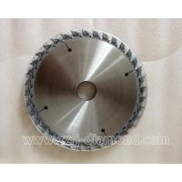 Buy cheap 180*45*4.4-5.1, Z=30T woodworking PCD saw blade, PCD Saw Blades are made of PCD material and tool steel, through cutting from wholesalers
