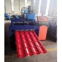 Buy cheap Metal Glazed Tile Roll Forming Machine 3kw 3.5 Tons Capacity High Efficiency from wholesalers