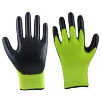 Buy cheap winter use terry acrylic nitrile foam gloves product