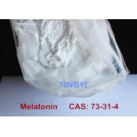 Buy cheap Bodybuilding Anti Aging White Steroid Raw Powders Melatonine CAS 73-31-4  Promoting Sleeping and Whitening from wholesalers