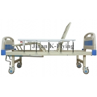 Buy cheap CE Nursing Care Bed , Two Functions Manual Hospital Bed from wholesalers