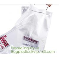 Buy cheap OPP Stand Up Pouch Flower Potted Plant Sleeves Microperforated CPP Bread Bags Bakery from wholesalers