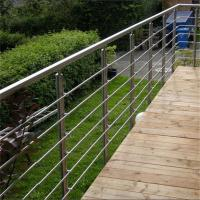 Buy cheap ss304 material wrought iron stair railing with America standards product